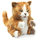 Folkmanis Puppet Orange Tabby Kitten