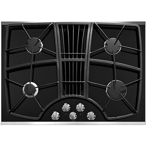 Discount Electric Cooktops 30 In ~ Cheap buy kitchenaid kgcd xss inch burner