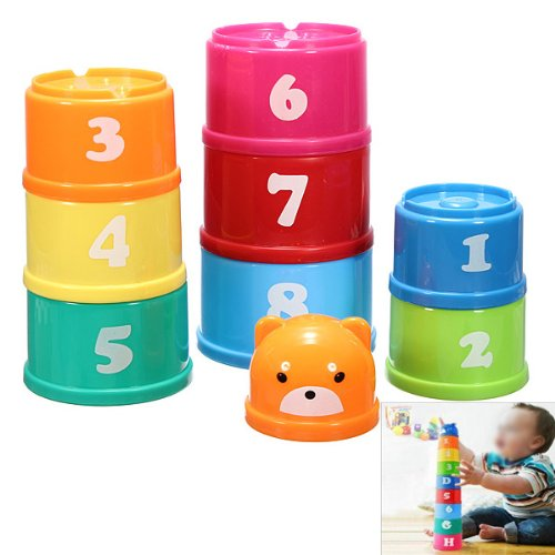 TOOGOOR-9-Stacking-Stacks-Learning-Count-Number-Cups-Tower-Baby-and-Toddler-Activity-TOY