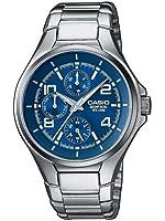 Casio - EF-316D-2AVEF - Montre Homme - Quartz analogique - Dateur - Bracelet acier
