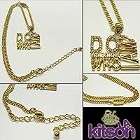 [キットソン]Kitson ネックレス DO YOU KNOW WHO I AM? 並行輸入品