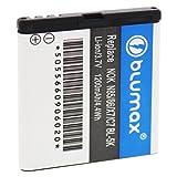 Blumax Batterie Li Ion pour Nokia N85 N86 8MP X7 00 C7 00 701 Remplace la batterie BL 5K 37V 1200mAh