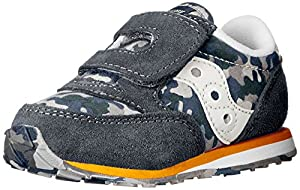 Saucony Boys Baby Jazz Sneaker (Toddler/Little Kid),Navy/Camo,6 M US Toddler