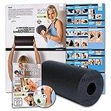 BLACKROLL Original Standard / Schwarz + BLACKROLLn Relax - Faszientraining durch Selbstmassage