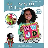 WWJD Pink Knot and Sew Kit, Craft for Children, Sew and Stuff, What Would Jesus Do Craft kit