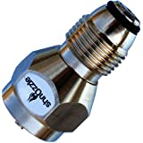 Shnozzle - SAFEST Propane Refill Adapter for One Pound Tank Small Cylinders