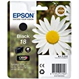 Epson C13T18014010 - 18 - Black - original - ink cartridge - for Expression Home XP-212, 215, 225, 312, 315, 322, 325, 412, 415, 422, 425