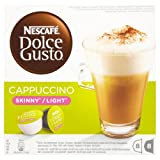 Nescafé Dolce Gusto Skinny Cappuccino 16 Capsules, 8 servings (Pack of 3, Total 48 Capsules, 24 Servings )