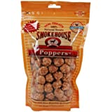 Smokehouse 100-Percent Natural Chicken Poppers Dog Treats, 8-Ounce