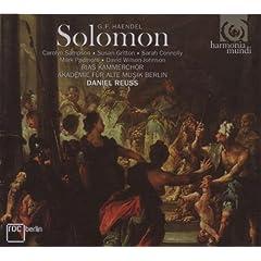 �w���f��:�\������ (G.F. Handel: Solomon)