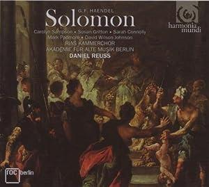 ヘンデル:ソロモン (G.F. Handel: Solomon)