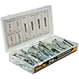 Tradespro 836367 Universal Clevis Pin Assortment, 74-Piece