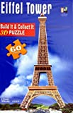 Eiffel Tower 3D PUZZLE 60 PIECES Numbered by 3D Puzzle