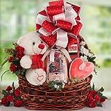 Cookies and Sweets Romantic Gift Basket | Wedding Gift Idea