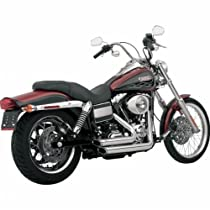 Vance & Hines Shortshots Staggered Exhaust System - Chrome , Color: Chrome 17217