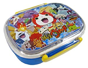 japanese yo kai watch microwavable bento lunch box kitchen dining. Black Bedroom Furniture Sets. Home Design Ideas