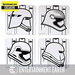 Star Wars: TFA Stormtrooper Coaster 4-Pack EE Exclusive