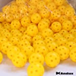 Andux 100 golf plastic practice balls...