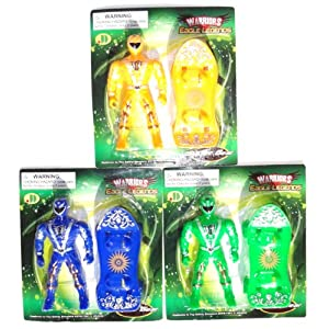 Warrior Superhero Action Figure Toys