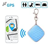 XCSOURCE Mini Waterproof GPS Tracker GSM/GPRS Real Time Tracking Device Locator with Key Chain for Kids Pets Vehicles PS116 (Tamaño: Set B (with Key Chain))