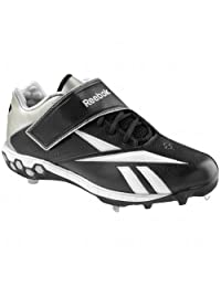 Reebok Mens Brushback Low Hex Metal Cleats