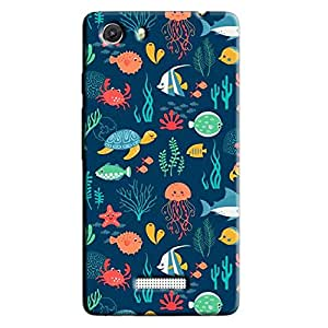 THE OCEAN BACK COVER FOR MICROMAX UNITE 3