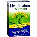 Mentholated Ointment, Topical Analgesic Rub, 1 OZ