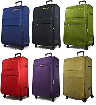 Extra Large Super Lightweight Expandable 4 Wheel Spinner Suitcases