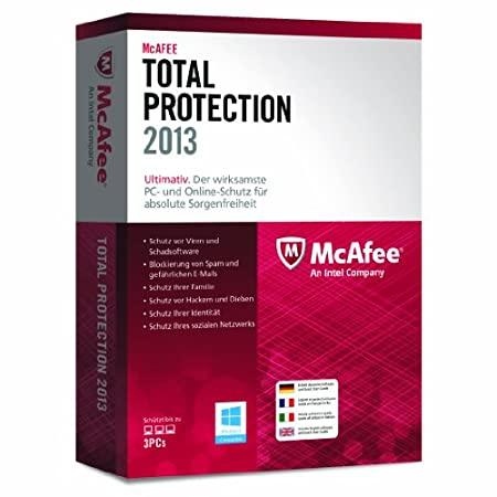 McAfee Total Protection 2013 - 3 User