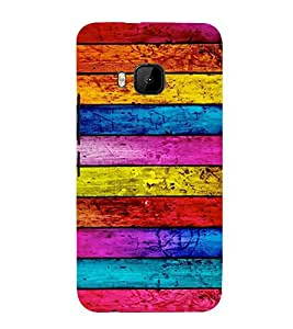 Designer Wood 3D Hard Polycarbonate Designer Back Case Cover for HTC One M9 :: HTC One M9S :: HTC M9 :: HTC One Hima