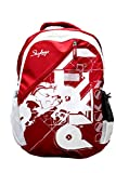 #9: Skybags Pogo 32 Ltrs Red Casual Backpack
