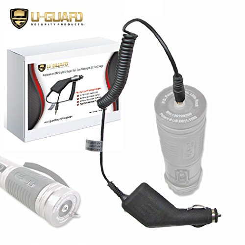 ZAP Light Charger Stun Gun Flashlight Car Charger  Direct Fit Cigarette &  DC Accessory Power Cord For PS Products Self Defense Weapon Taser
