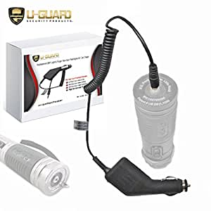 ZAP Light Charger Stun Gun Flashlight Car Charger. Direct Fit Cigarette & DC Accessory Power Cord For PS Products Self Defense Weapon Taser Flashlights. Fits ZAP ZAPL, ZAPLE, ZAPLDAZ & RUGARFLASH