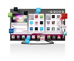 LG Electronics 60LA6200 60-Inch Cinema 3D 1080p 120Hz LED-LCD HDTV with Smart TV and Four Pairs of 3D Glasses