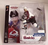 McFarlane NHL Series 3 Joe Sakic Home (White) Colorado Avalanche Jersey Variant Figure at Amazon.com