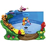 Westland Giftware Winne The Pooh and Gang Kite Flying Photo Frame, 4 by 6-Inch