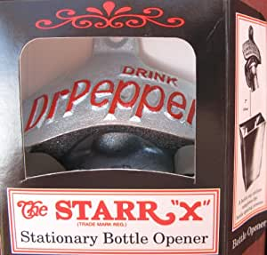 Brown Manufacturing Company / Starr Bottle Openers-Drink Dr Pepper Wall Mounted Bottle Opener