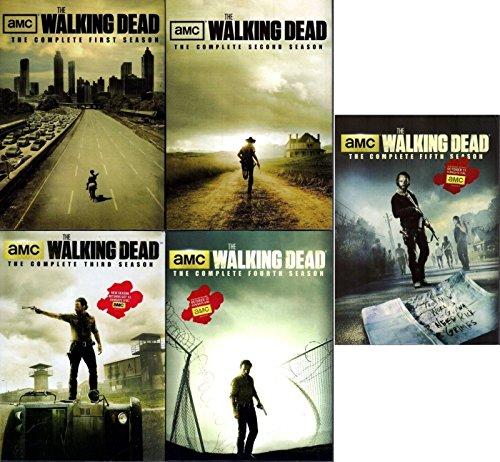 Walking Dead - Complete Collection, DVD (Series Seasons 1-5, 1,2,3,4,5 Bundle) USA Format Region 1
