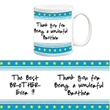 TIA Creation Best Ever Gift Mug For Brother, Best for Everyday Gifts