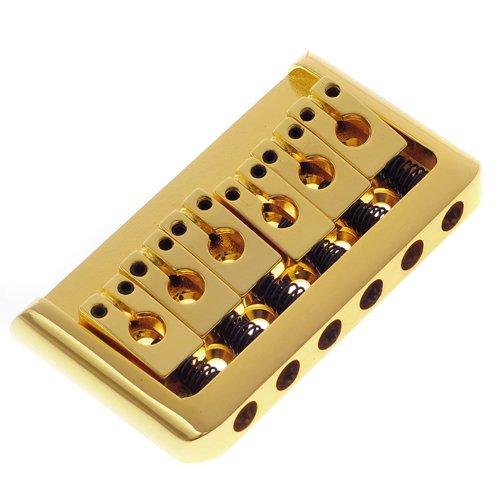 1Pkg Bg-2002-D-Gd Hardtail Electric Guitar Fixed Bridge Gold Guitar Part