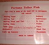 Fortune Teller Miracle Fish Magic Trick (pack of 10)
