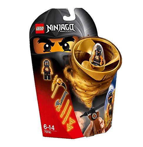 LEGO Ninjago Spinjitzu COLE Flyer 70741 - 1