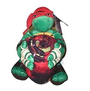 "Teenage Mutant Ninja Turtles Raphael Throw Blanket and Pillow Set (40""x50"")"