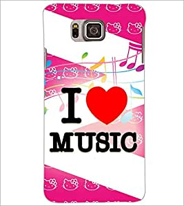 PrintDhaba Quote D-3854 Back Case Cover for SAMSUNG GALAXY ALPHA (Multi-Coloured)