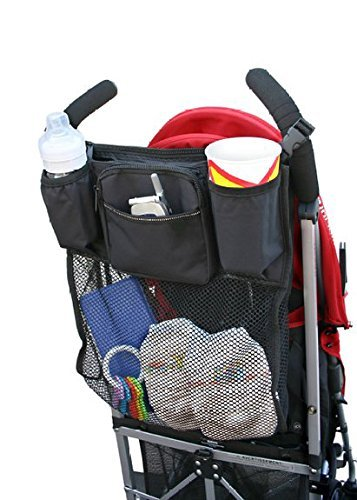 Better Space Stroller Organizer, Black - 1