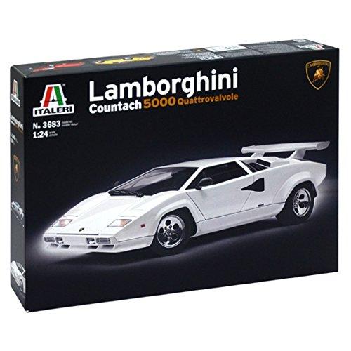 Italeri Model Kit - Lamborghini Countach 5000 Car - 1:24 Scale - 3683 (Lamborghini Model Car Kit compare prices)