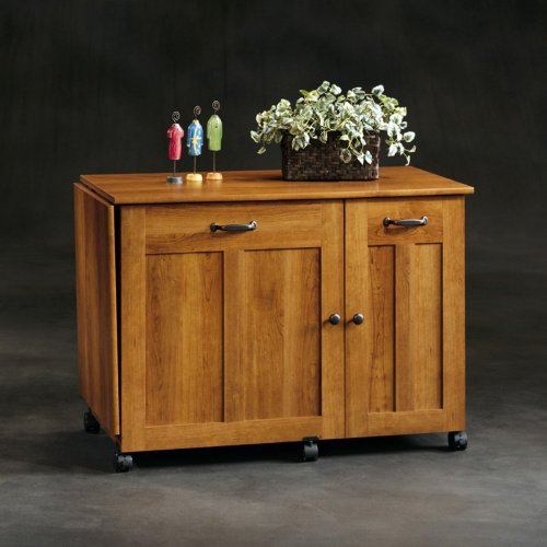 Sauder Sewing Craft Table - American Cherry