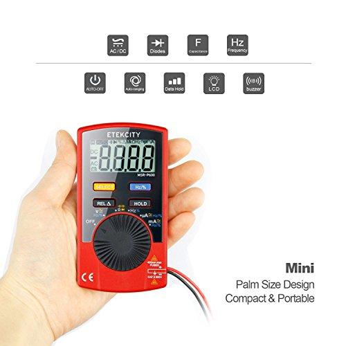 Etekcity MSR-P600 Auto-Ranging Digital Multimeter, Volt