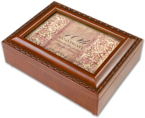 40th Anniversary Gift Music Box- mb1386