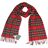 Tartan Cashmere Scarf - Authentic Cashmere Scottish Scarves for Men & Women - Made in Scotland